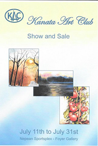 Exhibit by the Kanata Art Club