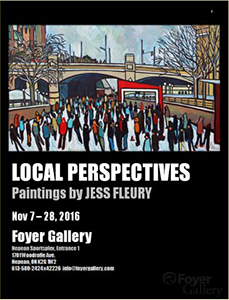 Local Perspectives solo show by Jess Fleury