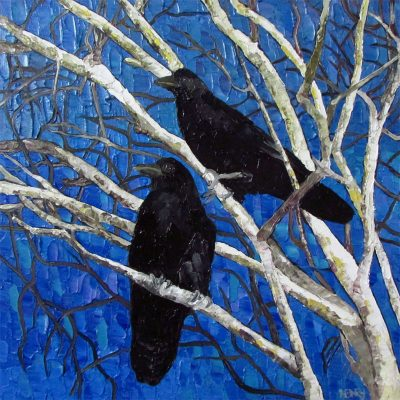 """2 Crows"" by Lauren Henry"