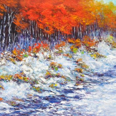 """Almost Winter, Gatineau"" by Margaret Chwialkowska"