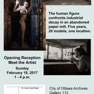 Roy Whiddon solo show at City of Ottawa Archives