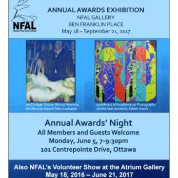 Foyer artists awarded in NFAL's Annual Awards Exhibition