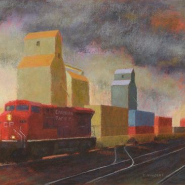 Paul Vincent commissioned by CP Rail