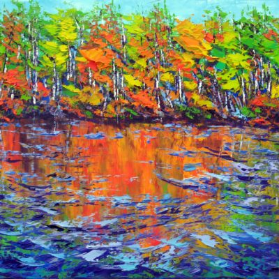 """Gatineau in Autumn"" by Margaret Chwialkowska"
