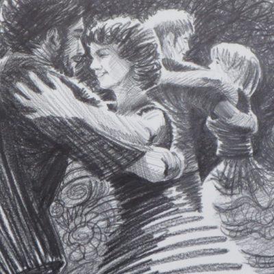 """Dancers"" by June Harman"