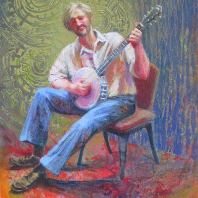 """""""Old Joe Clark"""" by June Harman"""