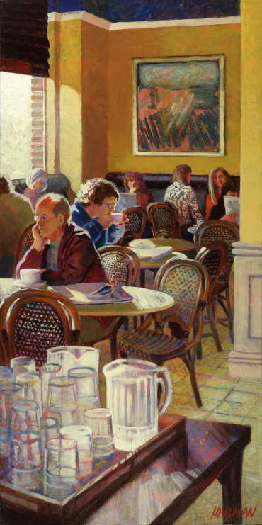 Sunday Morning at Cafe Trafiq
