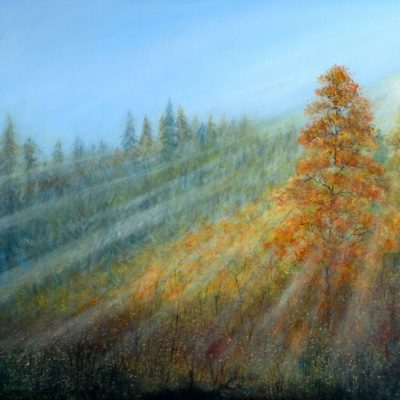 """Morning at Gatineau Park"" by Beata Jakubek"