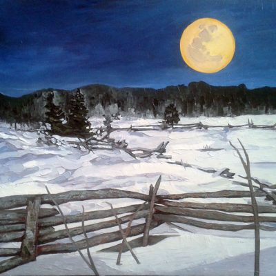 """Snow Moon"" by Lauren Henry"