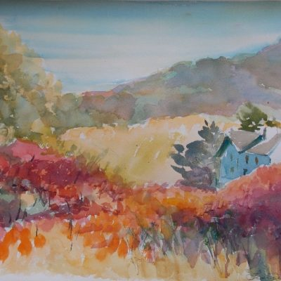 """View from Carman Road, Wakefield, Que"" by Leslie Blackwell"