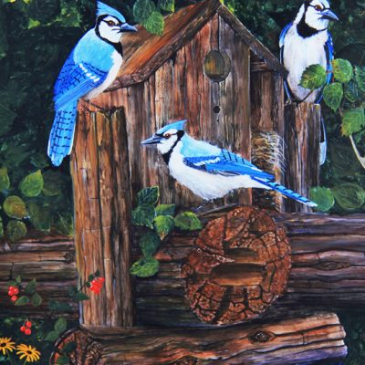 """Blue Jays"" by Terry Cowan"