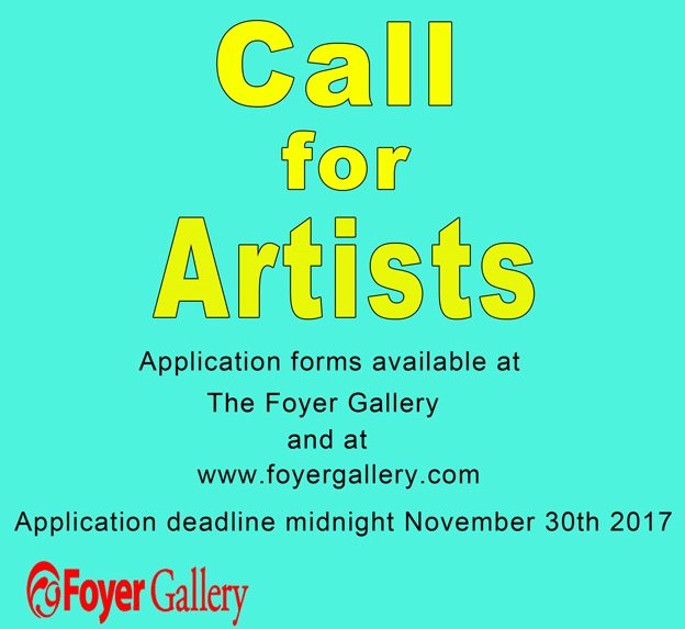 Call for Artists 2017