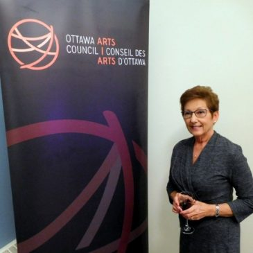 Margaret Chwialkowska selected a finalist for the Ottawa Arts Council Mid-Career Artist Award