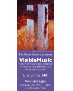 Visible Music – solo show by June Harman
