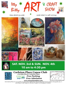 Donna Wiegand in Itty Bitty Art & Craft Show