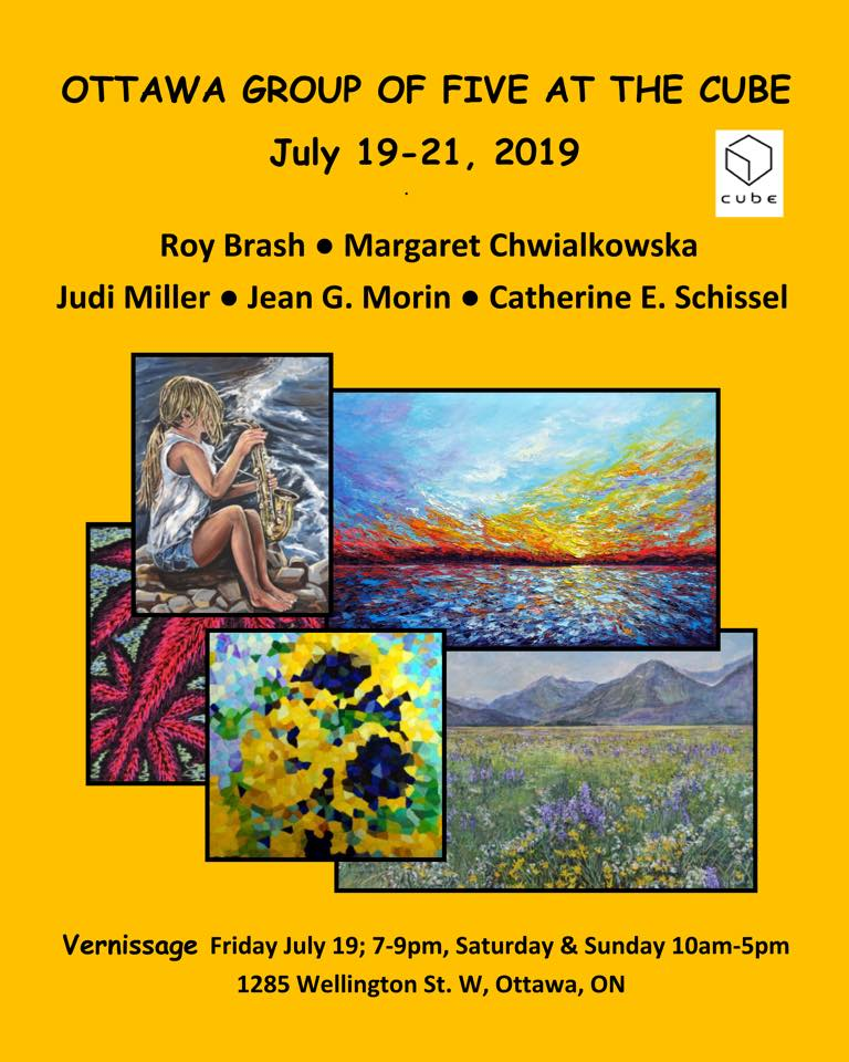 """Margaret Chwialkowska in """"Ottawa Group of Five"""" at the Cube"""