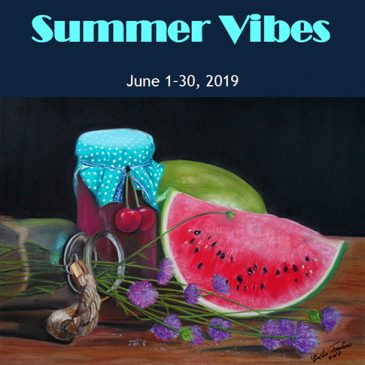 """Summer Vibes"" solo show by Erika Farkas"