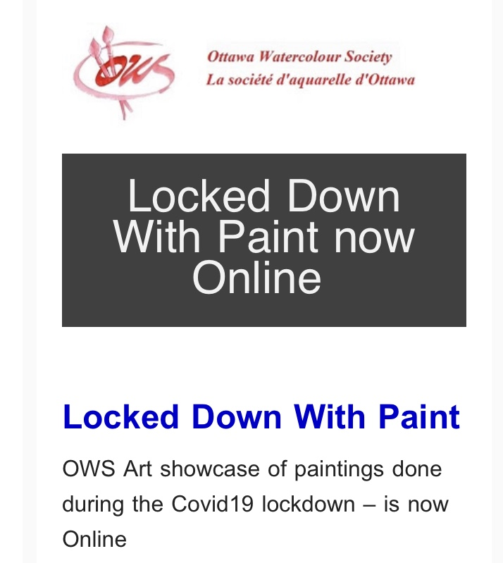Isabelle Jerome and Maurice Dionne Locked Down With Paint!