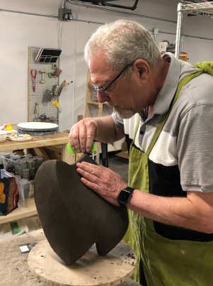 Rocky Bivens Artist of the Month - National Capital Network of Sculptors