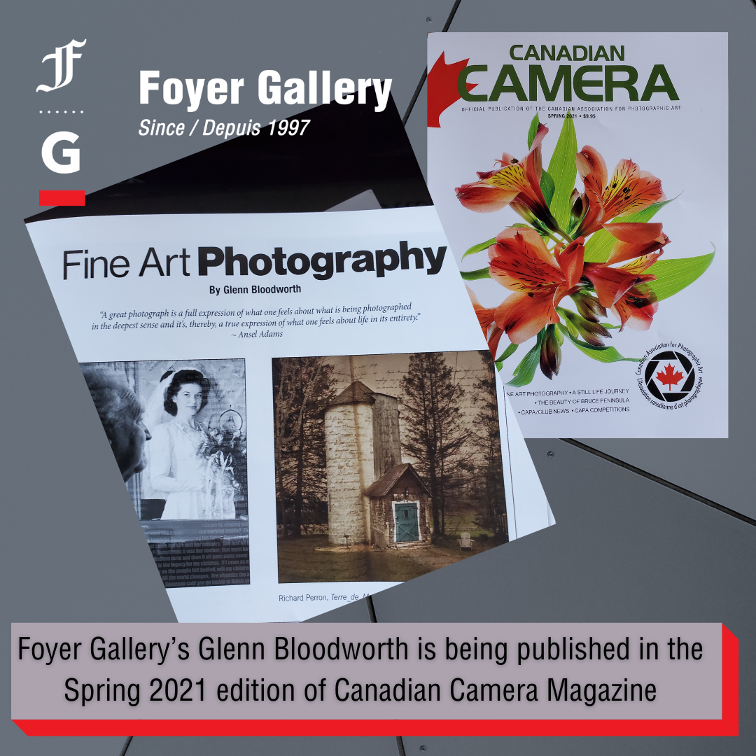Glenn Bloodworth published in the Canadian Camera Magazine